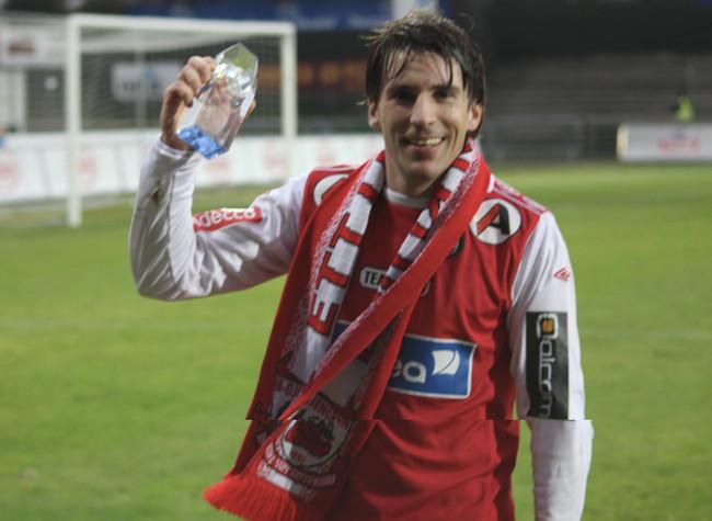 Vegar Landro blir stemt frem til årets spiller av B-gjengen i 2011