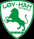 Løv-ham Fotball logo