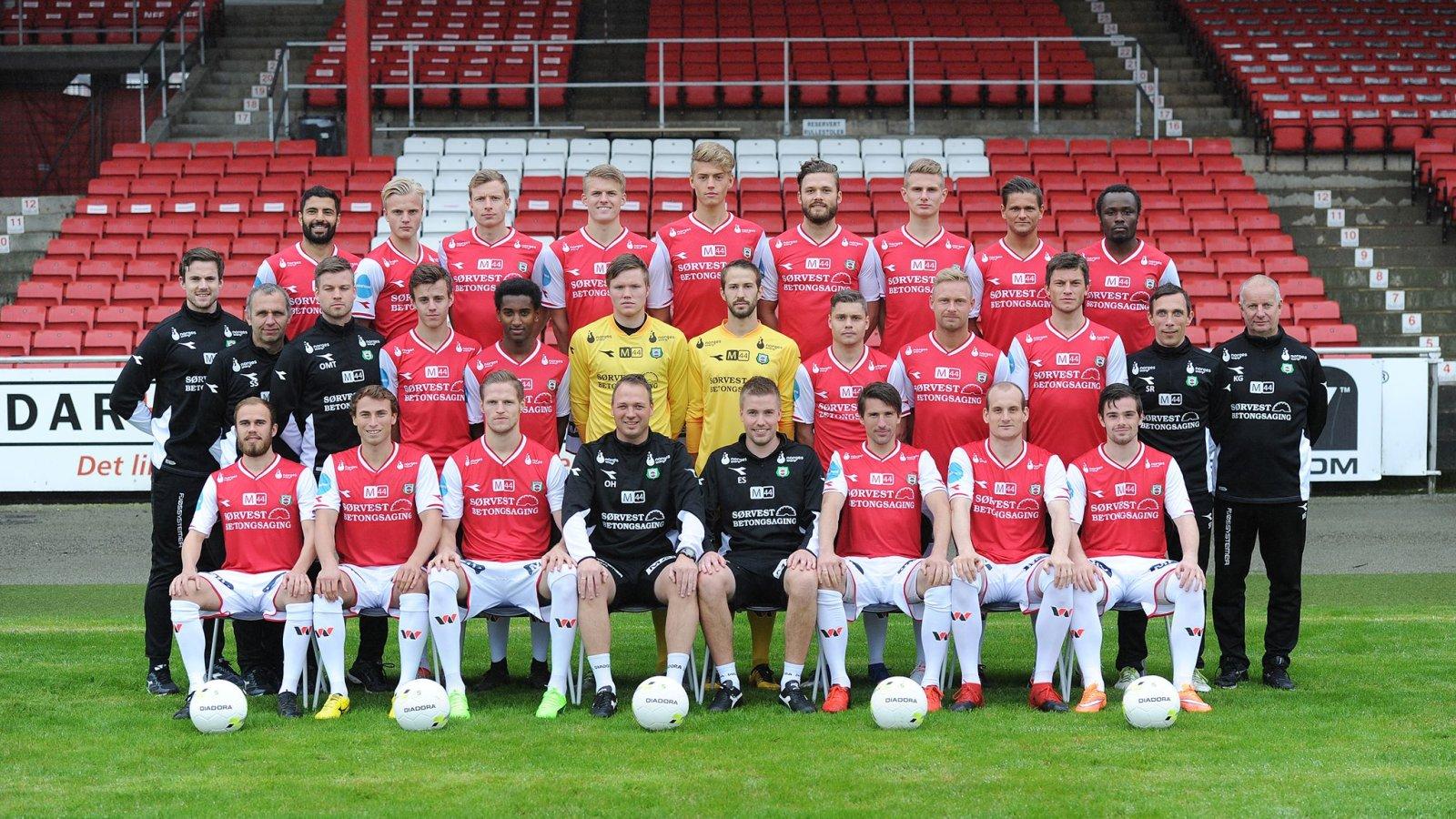 Lagbilde Bryne FK 2017 - Foto: Jærbladet