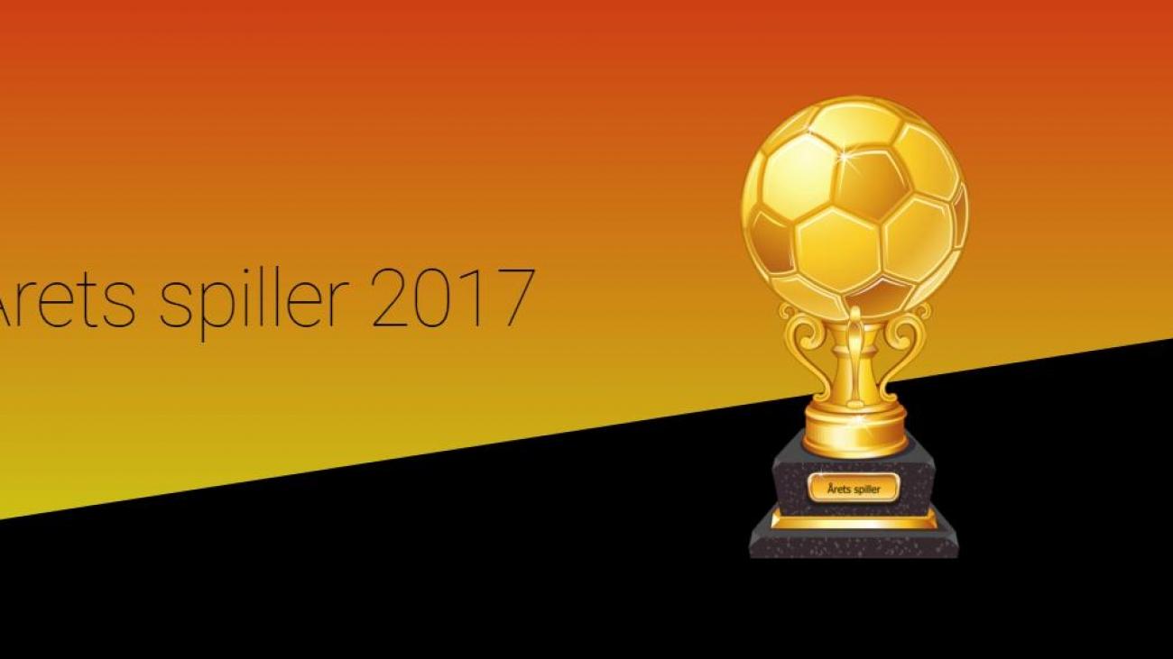 Hvem blir årets spiller 2017?