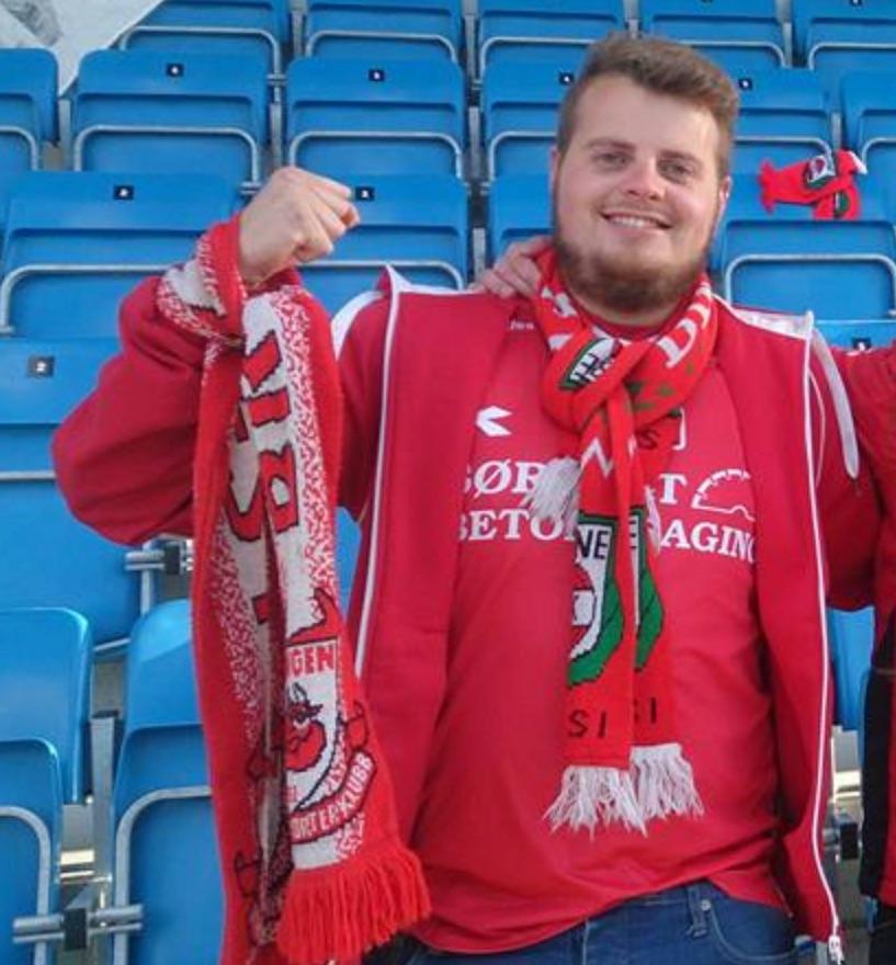 Tomas Tuen, leder B-gjengen supporterklubb