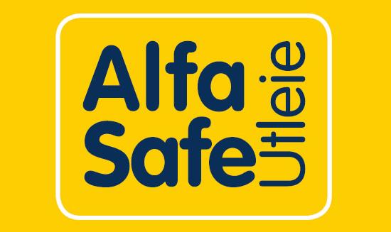 Alfa Safe utleie - Logo
