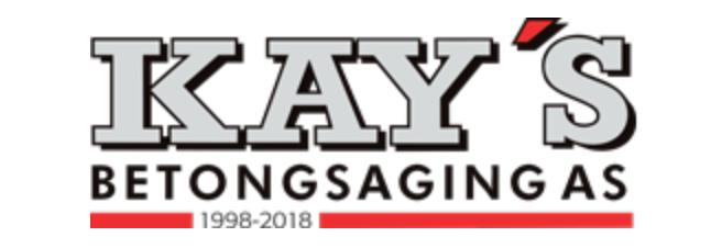 Kay´s Betongsaging logo