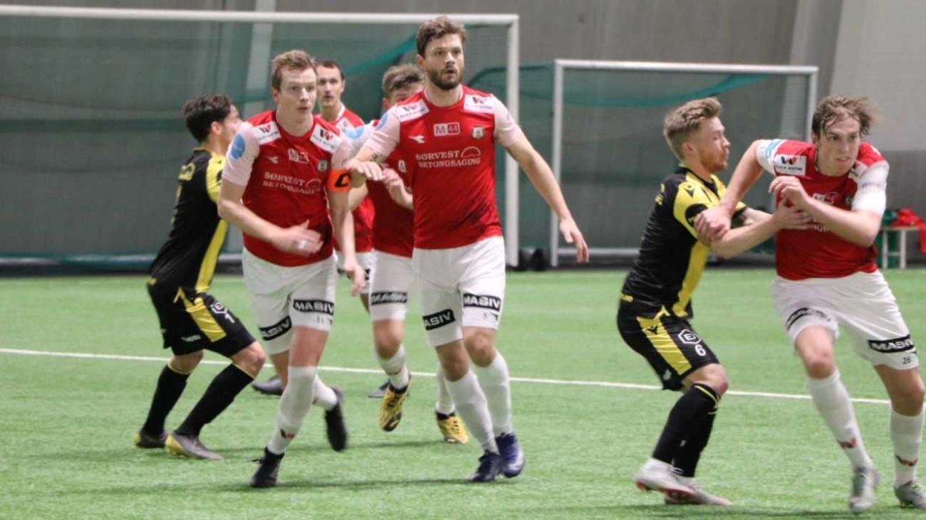 Foto: Svenn Olav Sele: Treningskamp Bryne - Eik