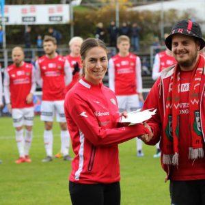 Åretsspiller 2019 - Bryne Damer - Mari Botne